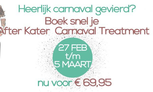 Carnaval After Kater Treatment